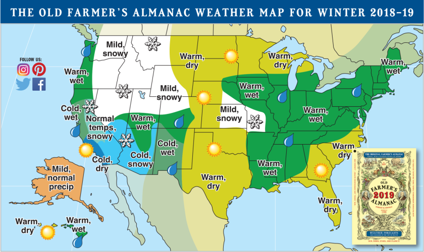 The Very Early Winter Outlook Mountain Weather - Us-snow-forecast-map